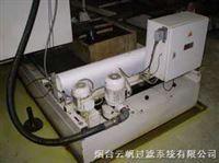 云帆过滤机床用走带过滤机特点
