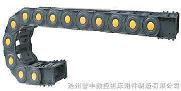 工程塑料拖链,桥式钢制拖链