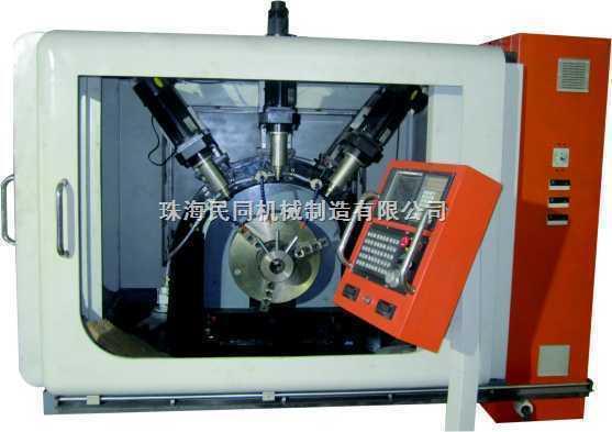 内三工位数控环模自动钻孔机