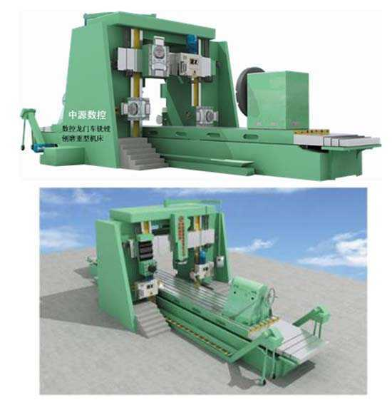 CXTBM-KU数控龙门车铣镗刨磨重型机床
