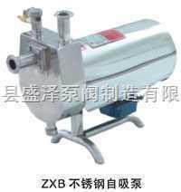 盛泽泵阀ZXB不锈钢自吸泵