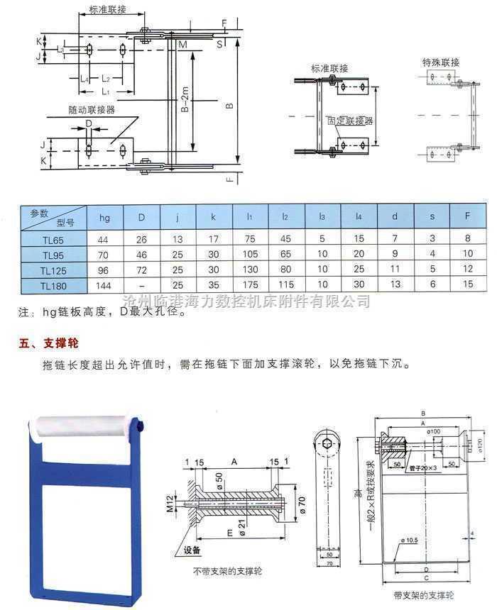 钢制拖链介绍