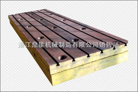 承揽 制造加工 各种大型机床工作台底座