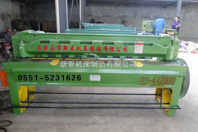 Q11-4×2000机械剪板机