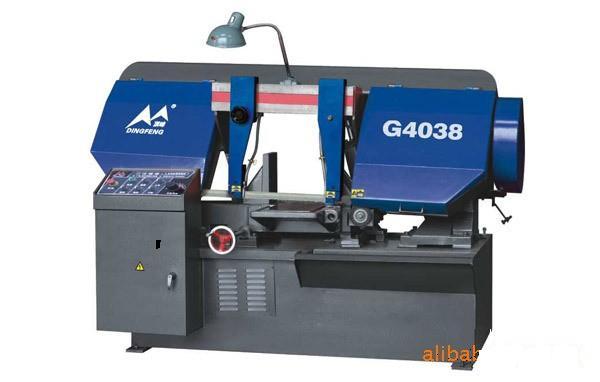 G4038卧式金属带锯床