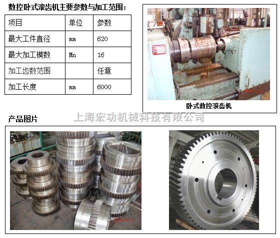 数控卧式滚齿机___中国机床商务网