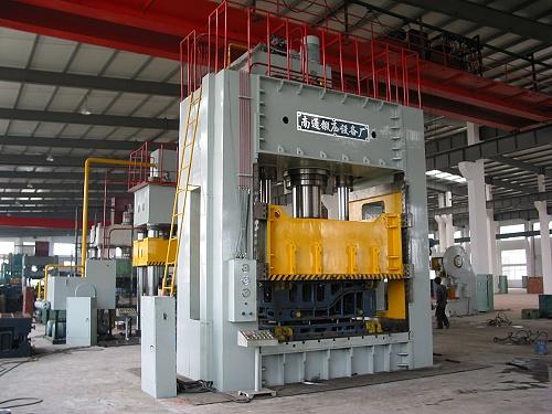 YQ27-630四柱式单动液压机