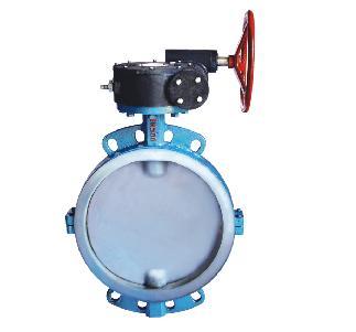 d371f-涡轮对夹衬氟蝶阀图片