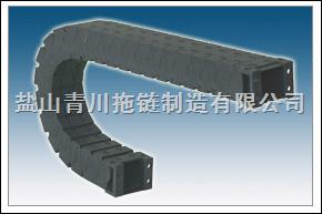 河北青川制造消音型工程塑料拖链